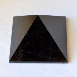 Пирамида дымчатый кварц, морион