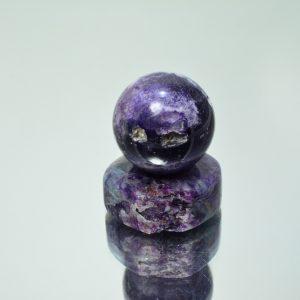 Флюорит с халцедоном #485