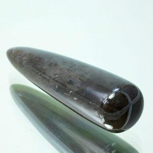 палец, дымчатый кварц #402