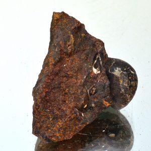 барит на раковине гетит